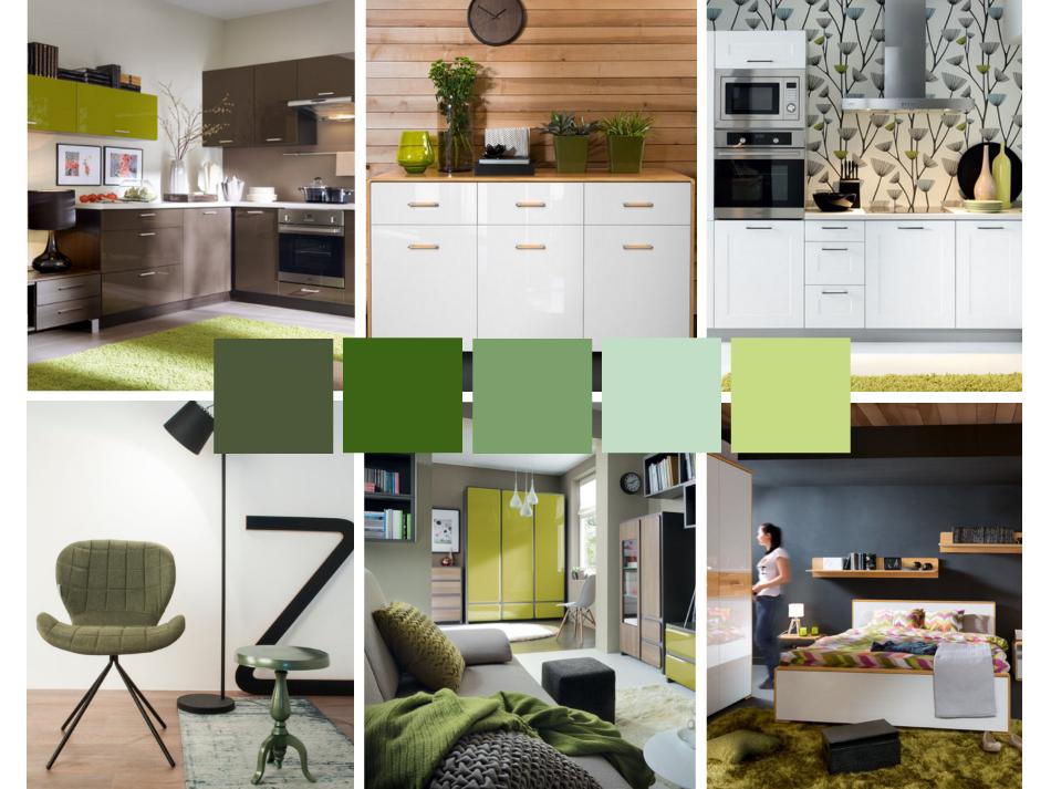 292e260f1e1892 zielone wnętrze, inspiracja, TwojeMeble, jak urządzić mieszkanie w zielonym  kolorze
