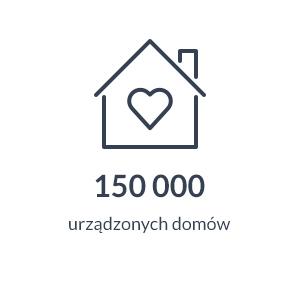150 000 urządzonych domów