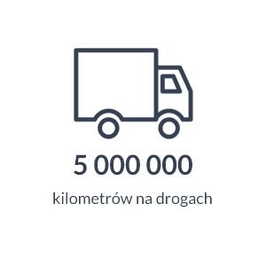 5 000 000 kilometrów na drogach