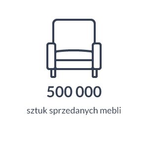 500 000 sztuk sprzedanych mebli